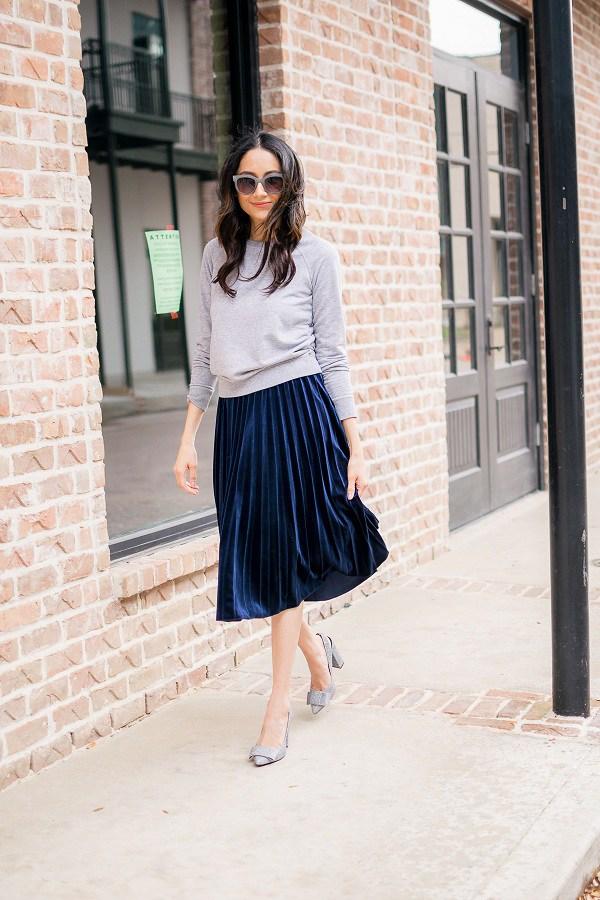 Các mẫu chân váy độc quyền dành cho ngày se lạnh, nàng cứ diện vào là thừa duyên dáng - 16
