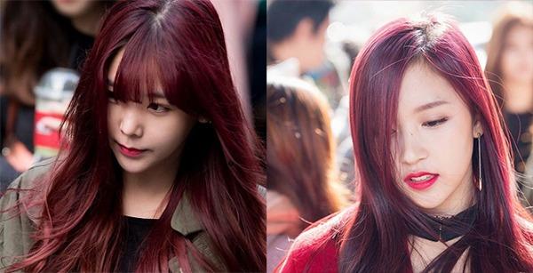 Những màu tóc nâu đỏ đẹp ấn tượng được yêu thích nhất hiện nay - 1