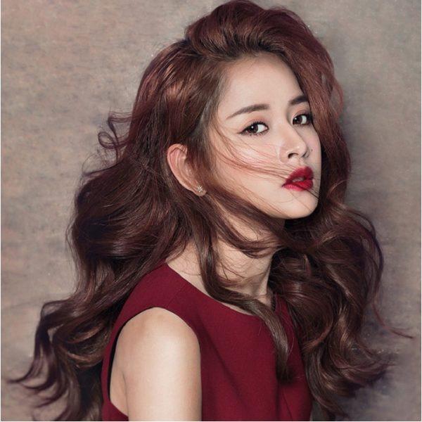 Những màu tóc nâu đỏ đẹp ấn tượng được yêu thích nhất hiện nay - 3