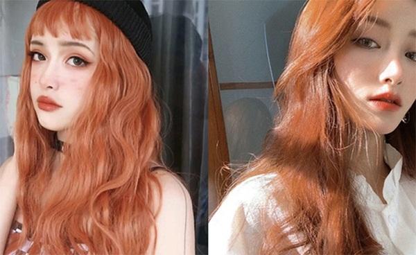 Những màu tóc nâu đỏ đẹp ấn tượng được yêu thích nhất hiện nay - 5