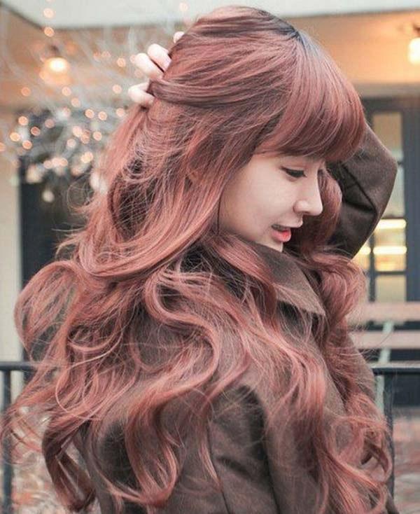 Những màu tóc nâu đỏ đẹp ấn tượng được yêu thích nhất hiện nay - 6