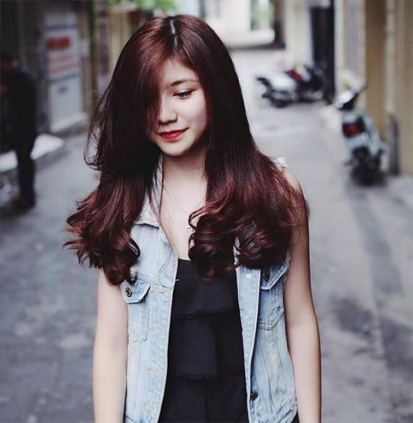 Những màu tóc nâu đỏ đẹp ấn tượng được yêu thích nhất hiện nay - 7