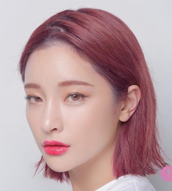 Những màu tóc nâu đỏ đẹp ấn tượng được yêu thích nhất hiện nay - 9