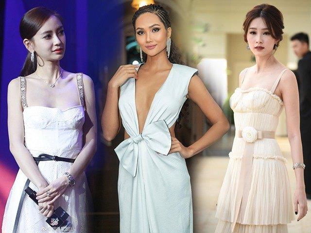 Có body đẹp mê, HHen Niê-Đặng Thu Thảo cũng chào thua trước những kiểu váy làm ngực bốc hơi
