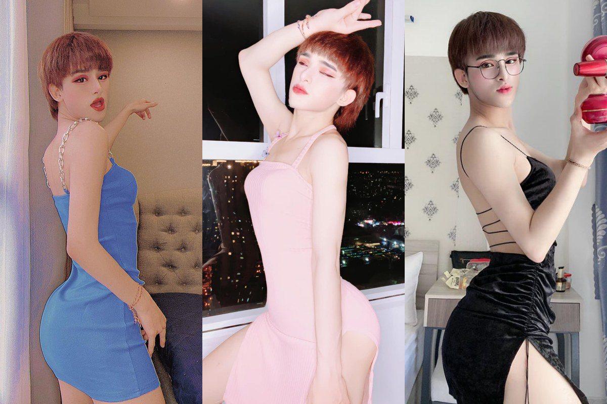 Bản sao Hiền Hồ đi thi Hoa hậu Chuyển giới, amp;#34;cặp mông quả đàoamp;#34; xuất sắc bỏ xa bản chính - 6