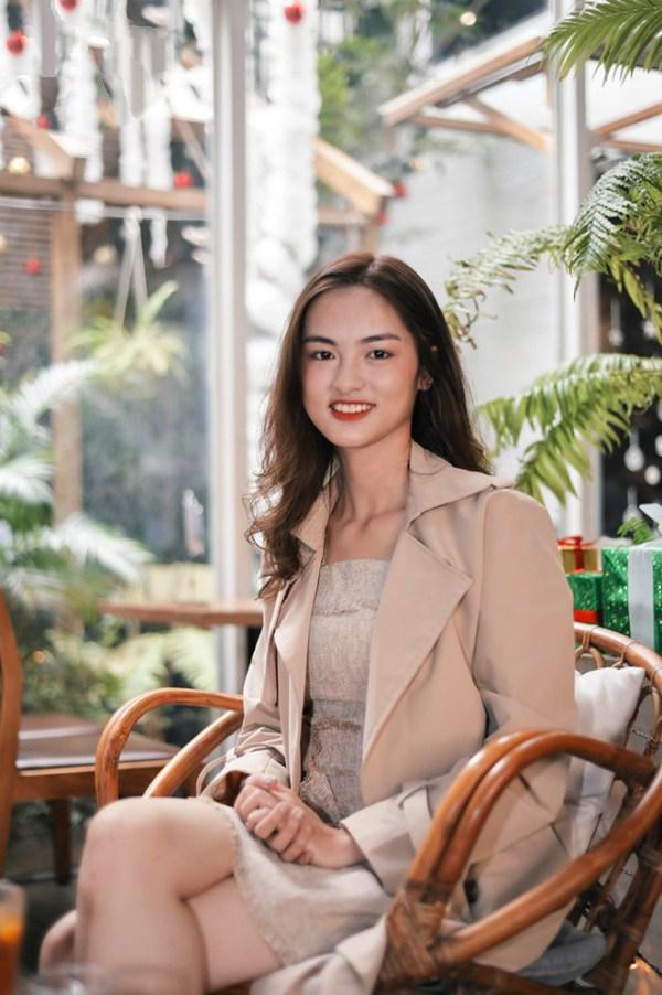 Cận cảnh nhan sắc đẹp như tranh của thí sinh thấp nhất Hoa hậu Việt Nam 2020 - 8