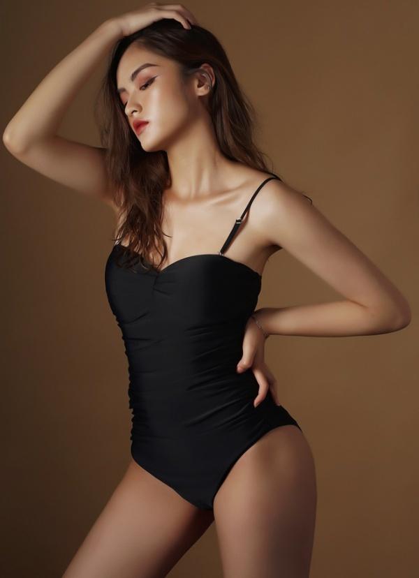 Cận cảnh nhan sắc đẹp như tranh của thí sinh thấp nhất Hoa hậu Việt Nam 2020 - 6