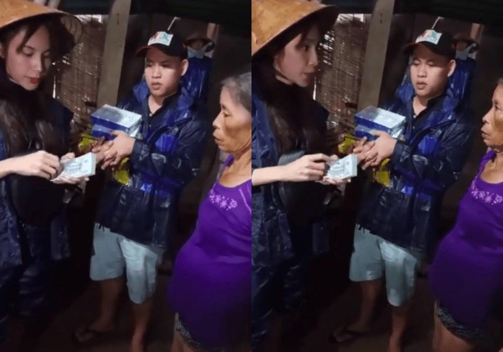 Con gái gào khóc đòi mẹ về khi thấy Thuỷ Tiên lăn xả giữa dòng nước lũ nguy hiểm - 5