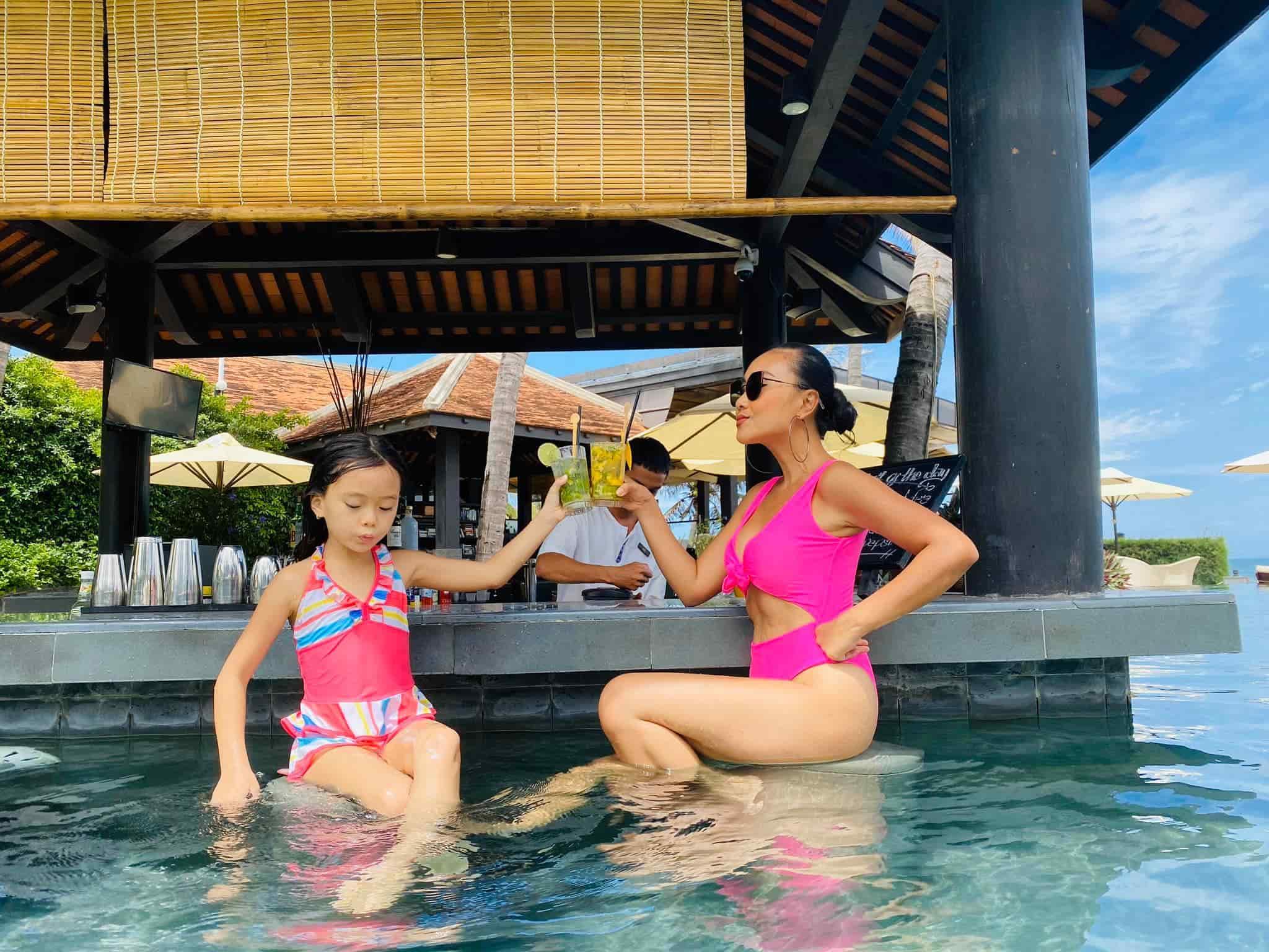 Mới 7 tuổi, con gái Đoan Trangkhoe đôi chân dài tựa siêu mẫu amp;#34;lấn átamp;#34; mẹ - 5