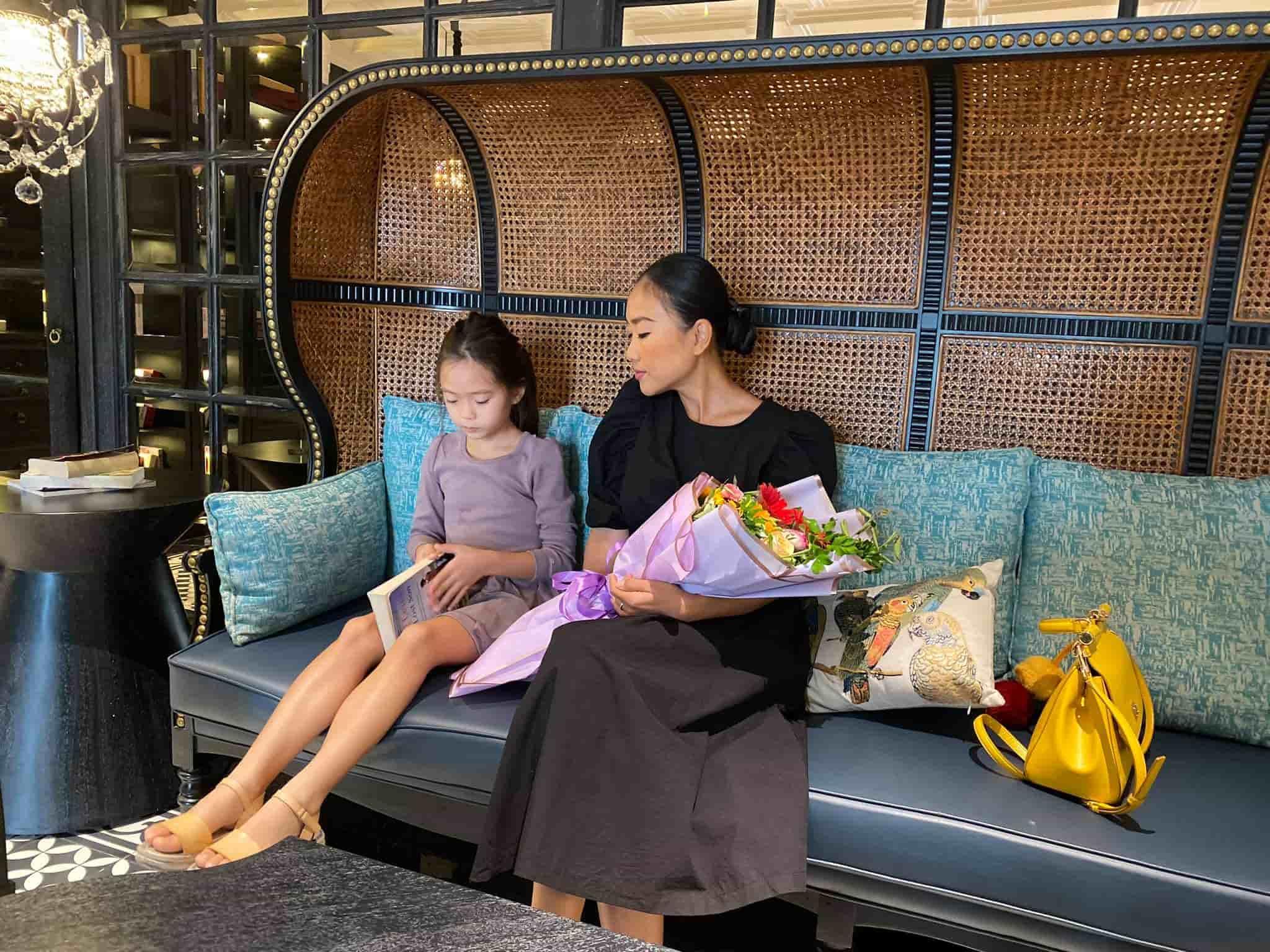 Mới 7 tuổi, con gái Đoan Trangkhoe đôi chân dài tựa siêu mẫu amp;#34;lấn átamp;#34; mẹ - 4