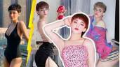 """Bản sao Hiền Hồ đi thi Hoa hậu Chuyển giới, """"cặp mông quả đào"""" xuất sắc bỏ xa bản chính"""