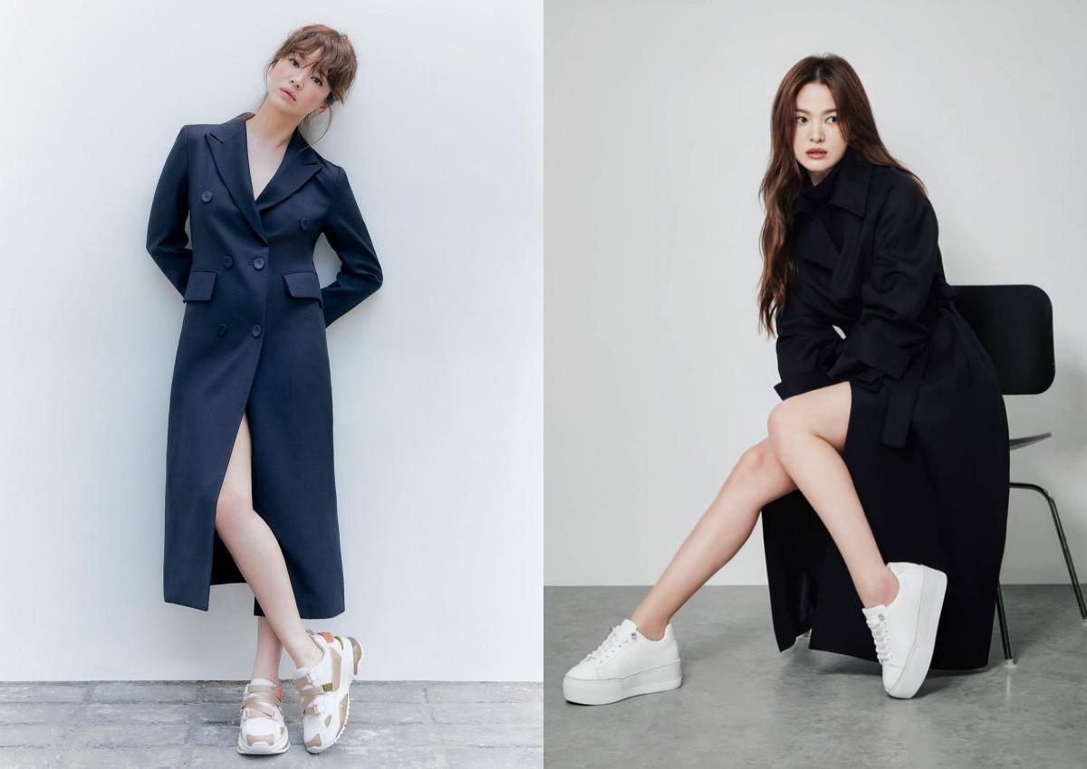 Chân ngắn một mẩu, U40 Song Hye Kyo vẫn mê diện mốt quần tàng hình đẹp vượt mặt gái 20-6