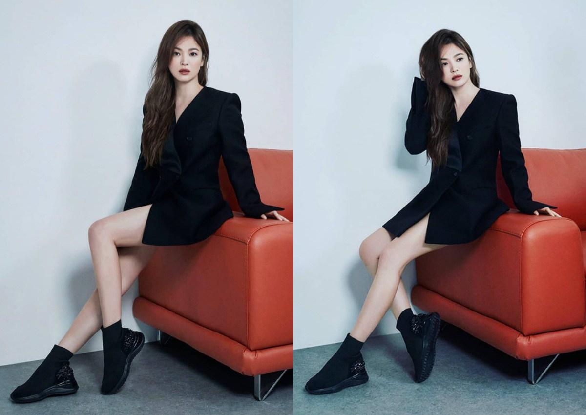 Chân ngắn một mẩu, U40 Song Hye Kyo vẫn mê diện mốt quần tàng hình đẹp vượt mặt gái 20-5