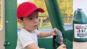 """""""Đổ gục"""" trước clip nói tiếng Anh của con trai Phạm Hương: Mới 2 tuổi đã là hot boy"""