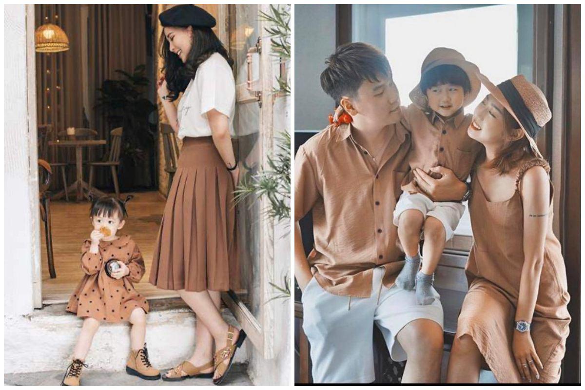Nhà có hai nàng tiên, Lưu Hương Giang mất cả tiếng hội ý để mặc đồ đồng điệu cùng con - 11