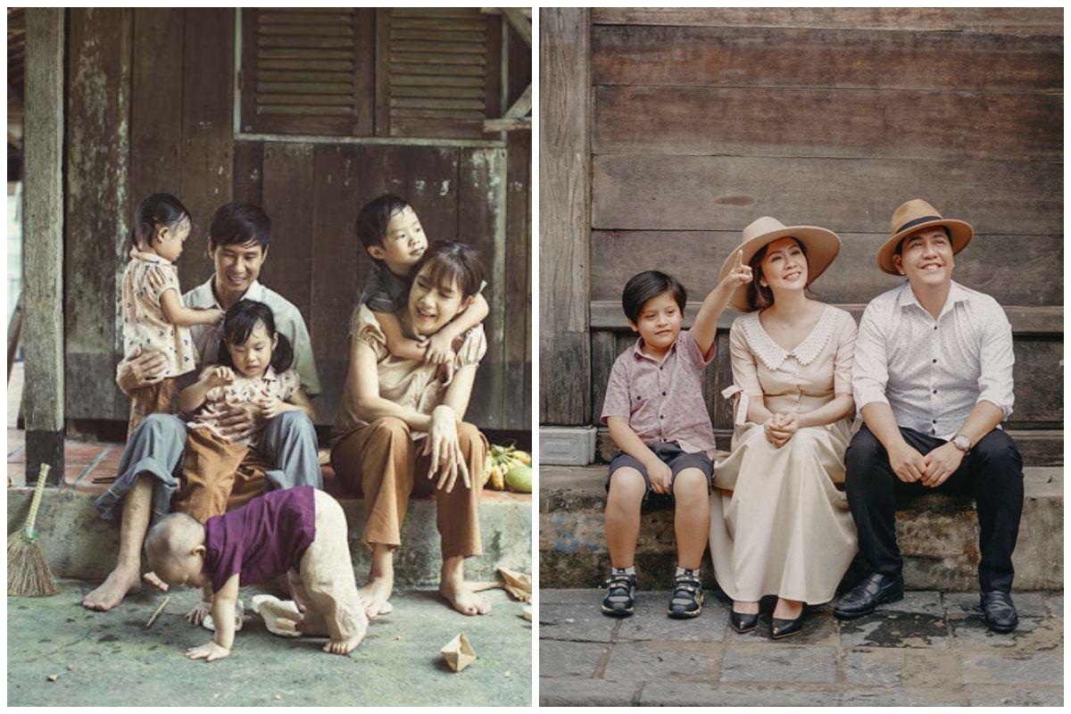Nhà có hai nàng tiên, Lưu Hương Giang mất cả tiếng hội ý để mặc đồ đồng điệu cùng con - 12