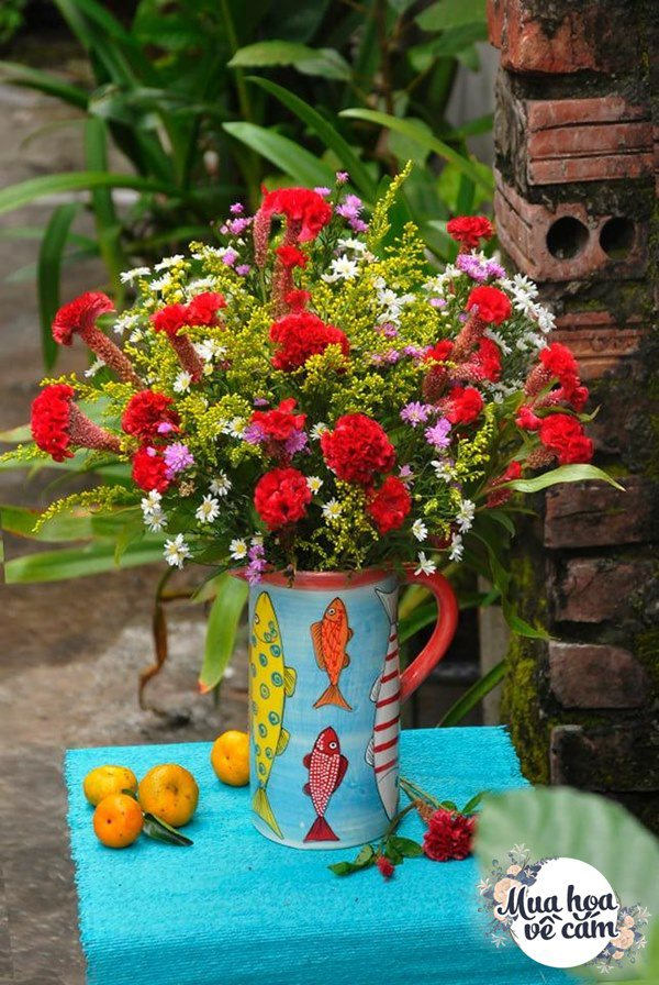 """Mẹ Việt tự tay cắm hoa 20/10, nhìn đến ảnh chim công, dân mạng thốt lên """"nức nở"""" - 23"""