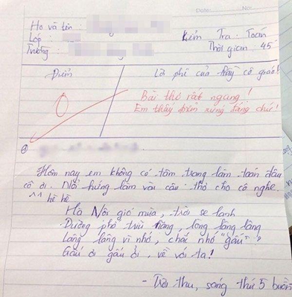 Điểm thấp trò vẫn bật cười khi đọc lời phê amp;#34;3 phần thật 7 phần cà khịaamp;#34; của thầy cô - 11