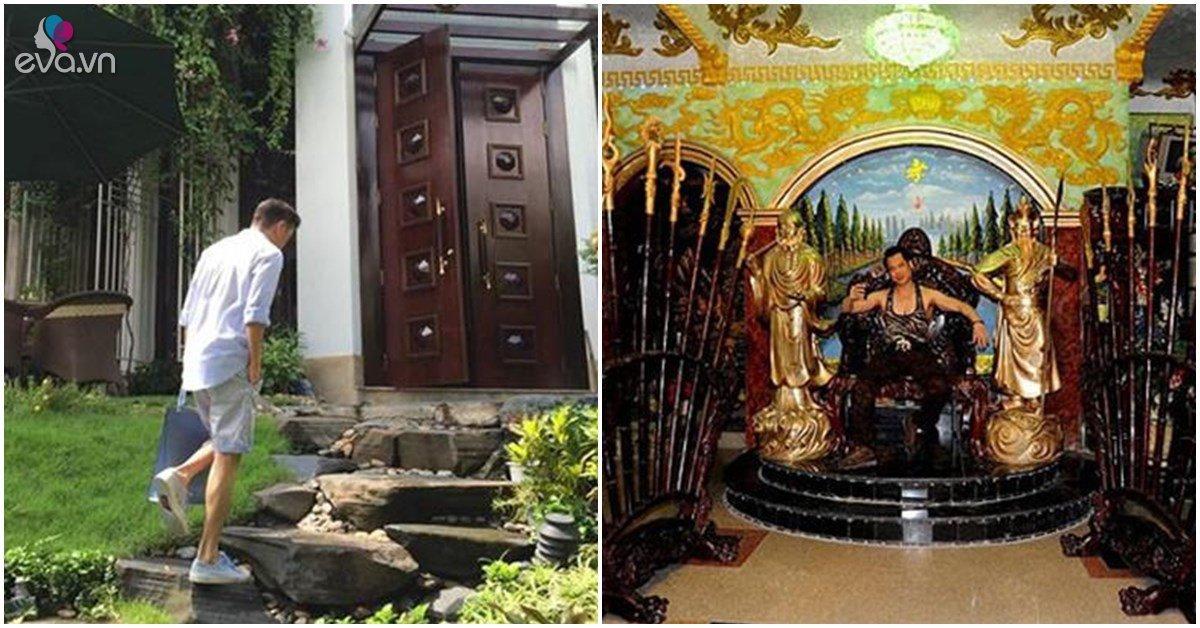 Cùng biệt phủ 100 tỷ, Đàm Vĩnh Hưng hoàng gia, sang nhà Ngọc Sơn nhìn rợn tóc gáy