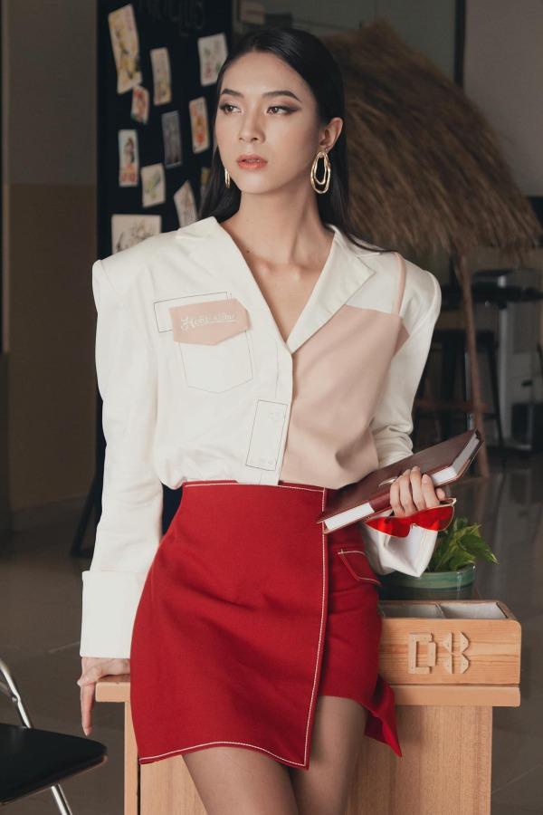 amp;#34;Thần tiên tỷ tỷamp;#34; sàn diễn xuất hiện tại Hoa hậu chuyển giới Việt Nam 2020 - 9