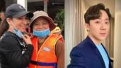 Trấn Thành bức xúc khi bị chất vấn về tiền cứu trợ, Phi Nhung bị chỉ trích vì cười tươi