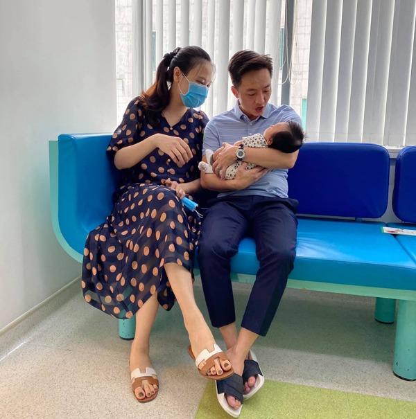 """Đàm Thu Trang sinh xong mặt bầu bĩnh, ngực căng sữa, Cường Đô-la liền nịnh vợ """"không ngượng miệng"""" - 5"""