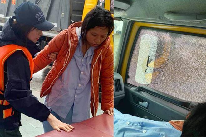 Sao Việt 24h: Đưa bà đẻ miền Trung đi cấp cứu, xe của Hòa Minzy bị dân ném vỡ kính - 1