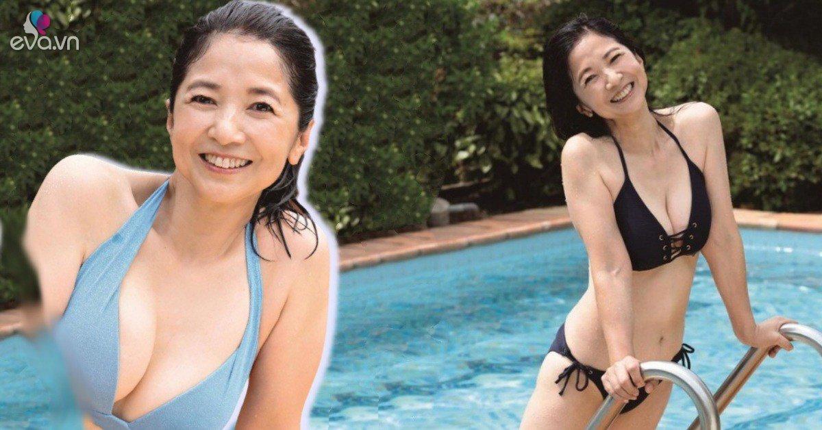 Tự tin diện bikini táo bạo, nữ diễn viên Nhật Bản gây sốt vì thân hình nảy nở