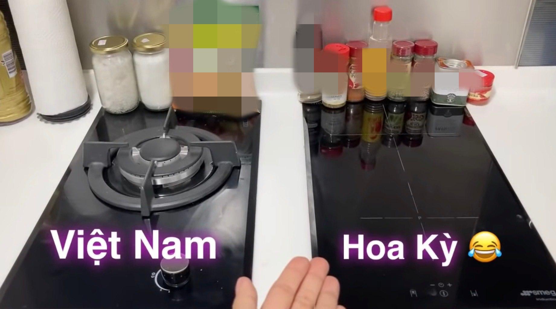 Những khác biệt từ ăn uống đến nấu nướng, sinh hoạt... khiến Hoàng Oanh ban đầu bỡ ngỡ.
