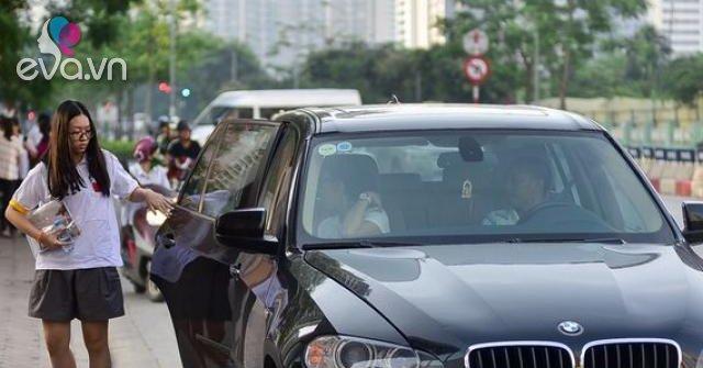 Lái siêu xe đưa con đi học, mẹ bị ném đá và câu nói khiến hội phụ huynh câm nín
