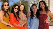 Bố mẹ chuẩn Á Đông, 2 ái nữ đẹp như Hoa hậu của Hồng Đào mang nét tây phóng khoáng