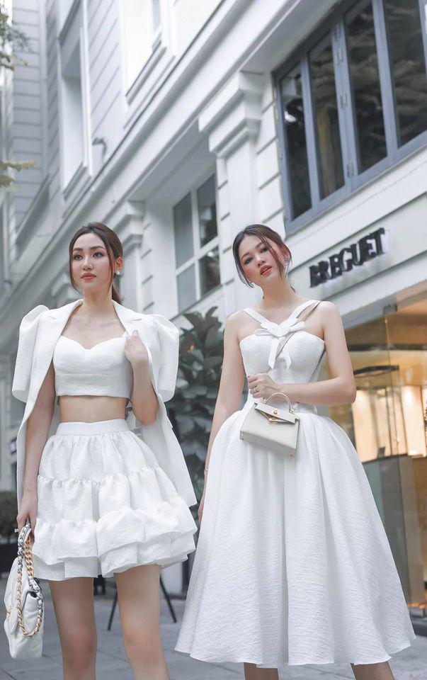 Cặp chị em Á hậu cùng lấy chồng đại gia ngày ngày xách túi tiền tỷ đi uống trà - 3