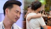 Lấy vợ hai và có con sinh đôi, MC Thành Trung khóc khi con riêng ước bạn trai giống ba