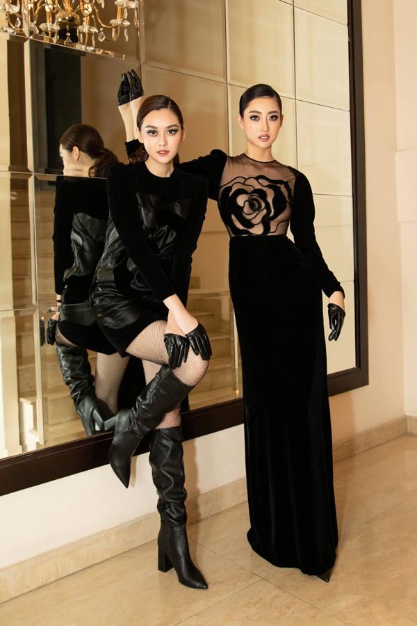 Diện váy xuyên thấu khoét bạo, Lương Thuỳ Linh khoe vòng một đẹp nhất làng Hoa hậu - 4