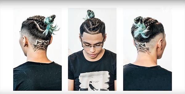 Những kiểu tatoo tóc nam đẹp đơn giản chất nhất hiện nay - 13