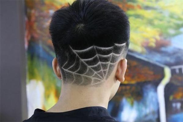 Những kiểu tatoo tóc nam đẹp đơn giản chất nhất hiện nay - 15