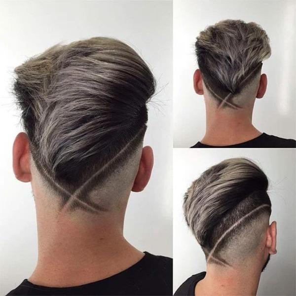 Những kiểu tatoo tóc nam đẹp đơn giản chất nhất hiện nay - 17