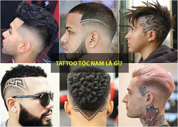 Những kiểu tatoo tóc nam đẹp đơn giản chất nhất hiện nay - 1