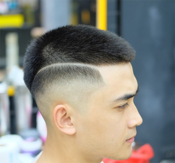 Những kiểu tatoo tóc nam đẹp đơn giản chất nhất hiện nay - 5