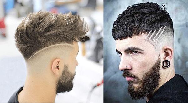 Những kiểu tatoo tóc nam đẹp đơn giản chất nhất hiện nay - 10