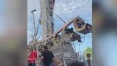 Cô gái sống sót sau khi rơi từ đu quay cao 30m