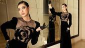 Diện váy xuyên thấu khoét bạo, Lương Thuỳ Linh khoe vòng một đẹp nhất làng Hoa hậu