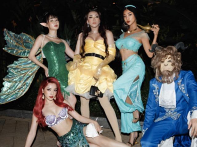 Sao Việt hoá trang Halloween: váy công chúa, đầm cắt bạo được tận dụng khoe triệt để body bốc lửa - 3
