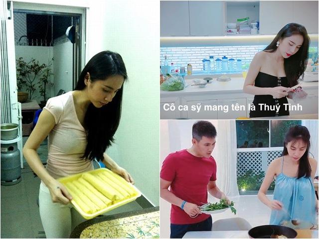 Thủy Tiên từ chỉ có 1 chiếc nồi nấu ăn trước khi giàu có, giờ thành bà hoàng bếp núc