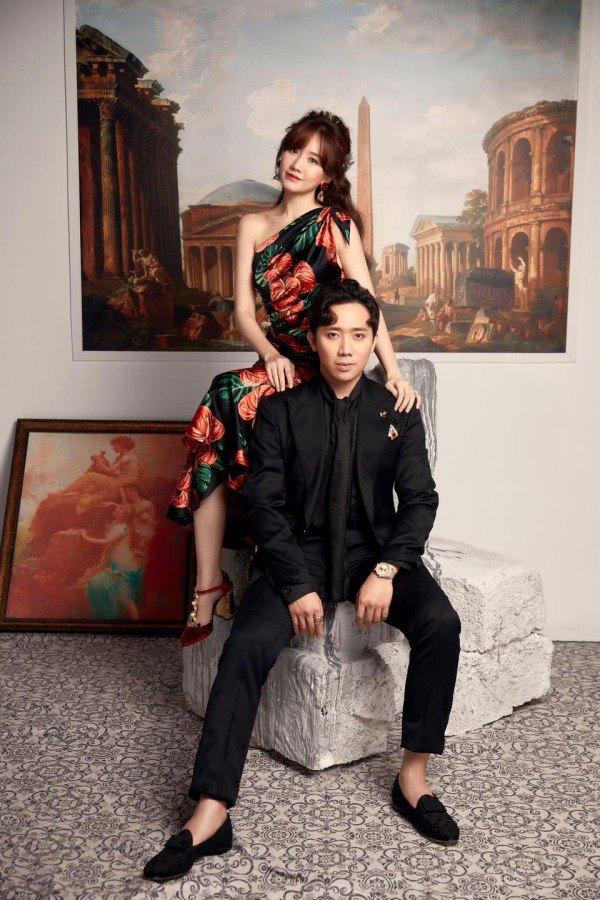 Cứ nhìn cách Hari Won diện váy đồng điệu với Trấn Thành, bảo sao được chồng siêu cưng chiều - 4
