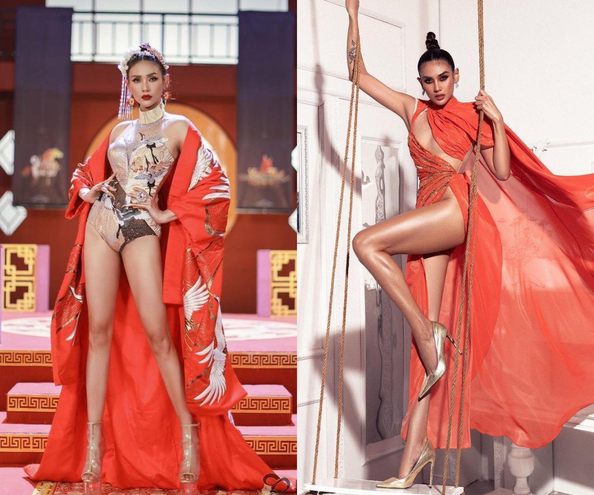 Võ Hoàng Yến cùng dàn Hoa - Á hậu khoe dáng với áo tắm, phô diễn chân dài tuyệt phẩm - 10
