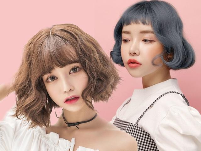 Những kiểu tóc ngắn uốn sóng đẹp nhất 2020 phù hợp với mọi gương mặt