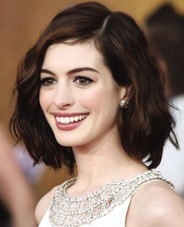 Gợi ý những kiểu tóc đẹp cho mặt vuông, nàng không cần đụng amp;#34;dao kéoamp;#34; mặt vẫn hóa V-line - 8