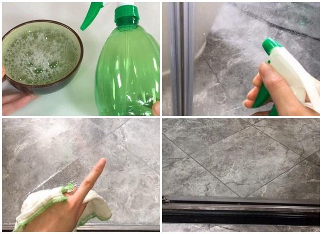 Chỉ cần mẹo đơn giản này cặn trên kính phòng tắm dễ dàng loại bỏ, sạch bong kin kít - 3