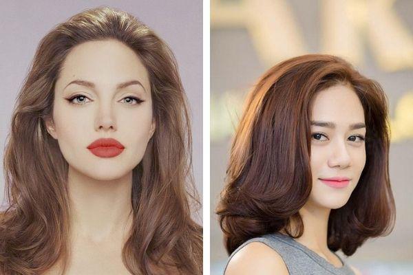 Gợi ý những kiểu tóc đẹp cho mặt vuông, nàng không cần đụng amp;#34;dao kéoamp;#34; mặt vẫn hóa V-line - 3
